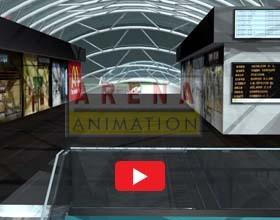 Railway Station Architectural Visualisation-Nikunj Pathak